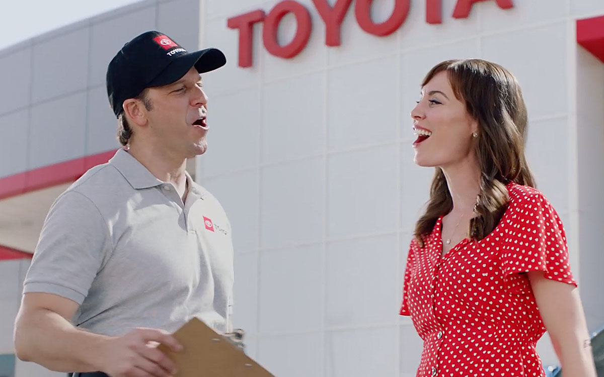 Toyota Sales Event Duet
