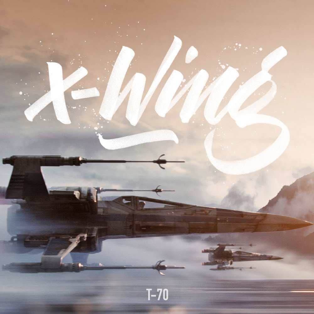 cars-and-letters x-wing