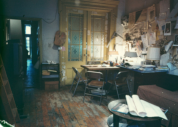 Louise Bourgeois' home studio