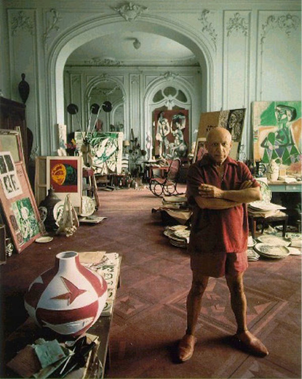 Picasso's atelier in Cannes